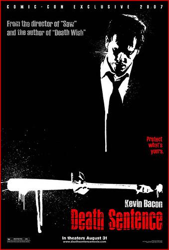 Cartel de Death Sentence para la Comic Con de San Diego